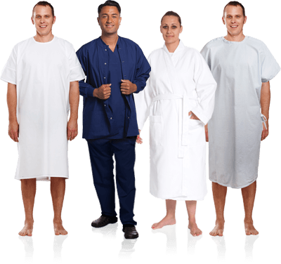 Patient Wear  - Gowns, Robes Garments