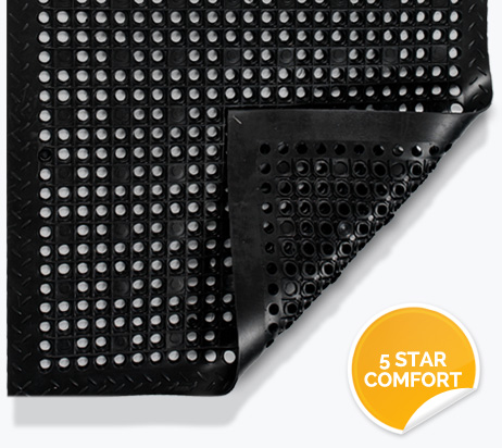Anti-Fatigue Mats - 5 Star Comfort