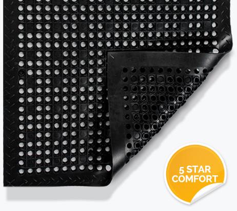 Anti-Fatigue Mats - 5 Star Comfort