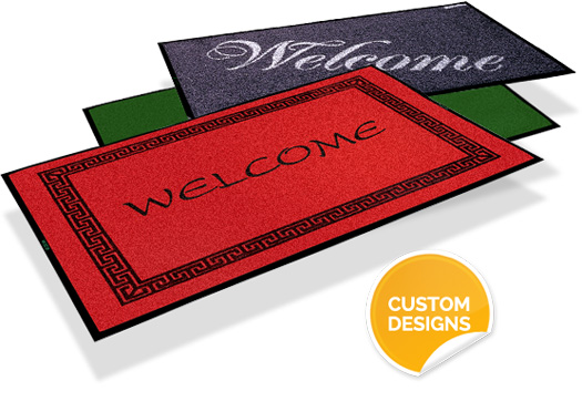 Logo Entrance Mats - Custom Designs