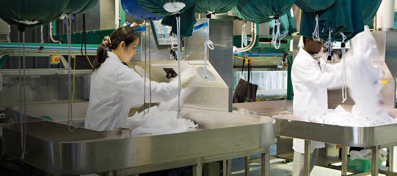 Alsco's professional textile rental services
