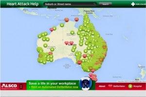 Screenshot heartattackhelp.org.au