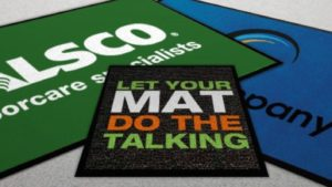 customised entrance mats