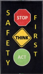 Alsco Safety Message Mat