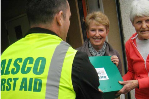 Alsco Charitable First Aid