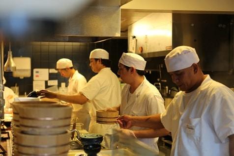 Alsco kitchen as a workplace