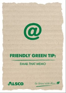 Green Tip Poster