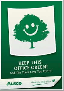 Keep This Office Green