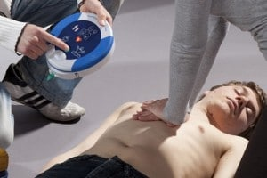 Portable Defibrillator for Alsco Training