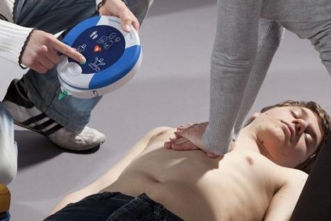 Portable Defibrillator for Alsco Training