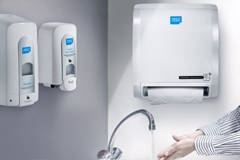 Alsco Hand dryers vs paper towels