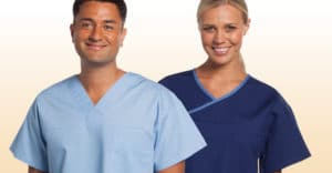 Breathable, comfortable staff uniforms.