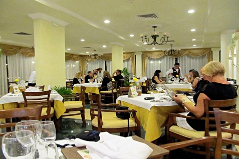 A clean and elegant restaurant