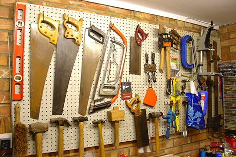 Properly organised and maintained tools.