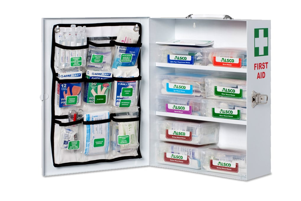 Serviced Workplace First Aid Kits | Hospital Grade | Alsco