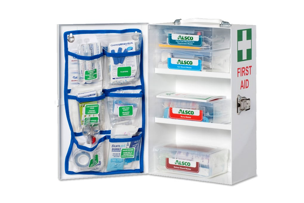 Serviced Workplace First Aid Kits | Hospital Grade