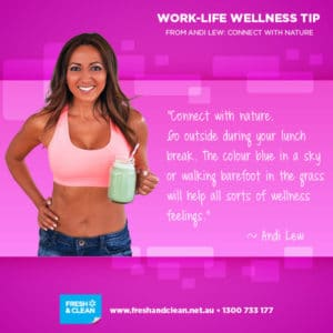 Wellness tip from Andi Lew