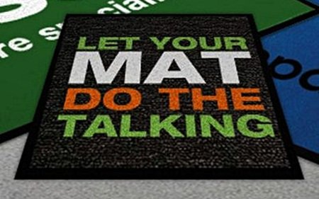 Let you mat do the talking from Alsco