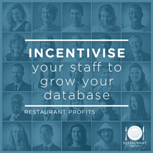 Grow your database with the help of your staff and reward them