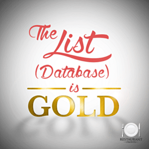 Database is as important as gold