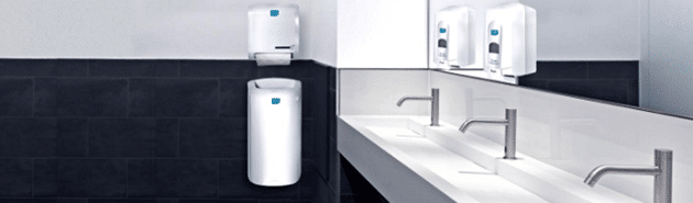 Alsco sanitizers and dispensers perfect for every commercial restroom