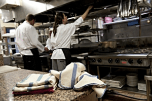 Reusable wipes from Alsco suitable for every commercial kitchen