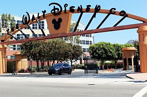 The Walt Disney Company entrance way