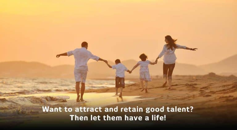 Attract and keep productive and talented employees