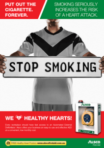 Stop Smoking poster. Free download and print.