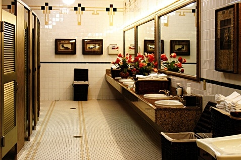 Clean and beautiful washroom