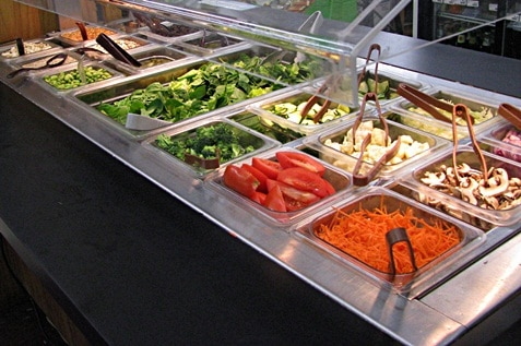Salad bar for everyone