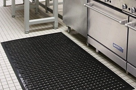 Ensure your staff safety by providing them a wet area mats from Alsco