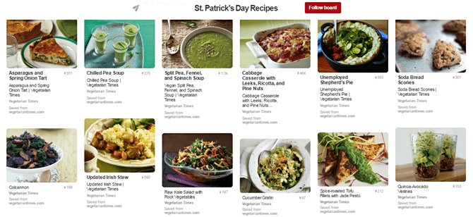 Green Recipes for St. Patrick's Day