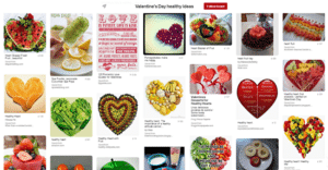 Valentine's day healthy ideas from Pinterest