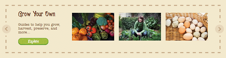 Healthy and natural farm goods