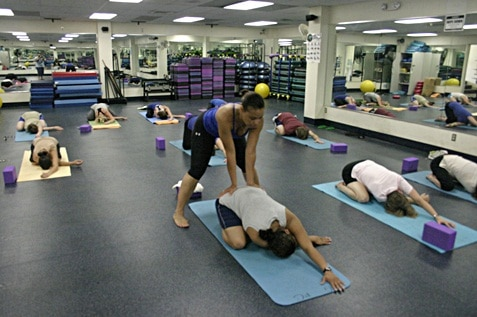 Yoga helps relieve back pain
