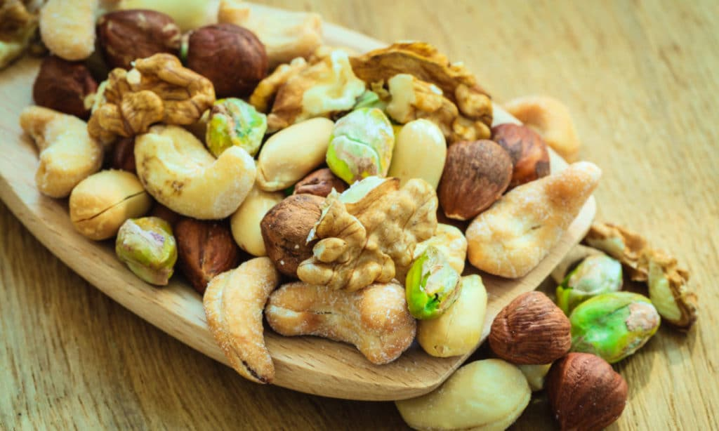 Nuts for snacks