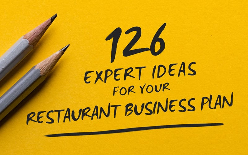 126 Expert Ideas For Your Restaurant Business Plan | Alsco Australia