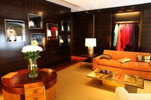 Modern and classy room of bags for sale