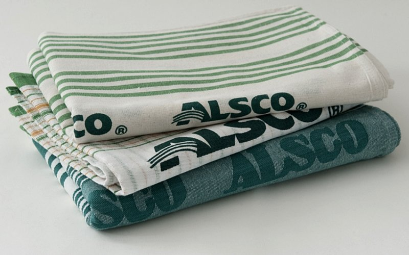 Alsco tea towels