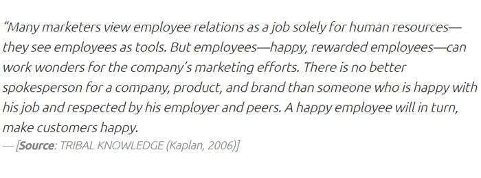 Importance of loyal employees