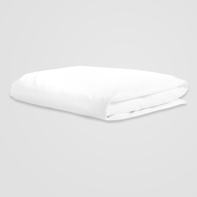 clean well folded white sheet