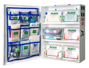 inside the first aid kit - first aid stocks