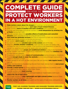 protect workers in hot environment