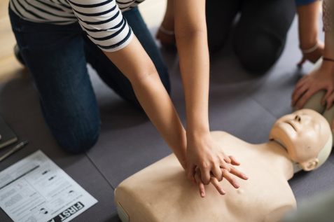 first aid assistance cardiac arrest